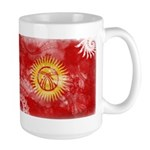 Kyrgyzstan Flag Large Mug