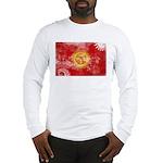 Kyrgyzstan Flag Long Sleeve T-Shirt