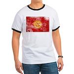 Kyrgyzstan Flag Ringer T