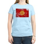 Kyrgyzstan Flag Women's Light T-Shirt