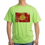 Kyrgyzstan Flag Green T-Shirt