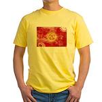 Kyrgyzstan Flag Yellow T-Shirt