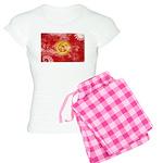 Kyrgyzstan Flag Women's Light Pajamas