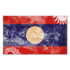 Laos Flag Decal