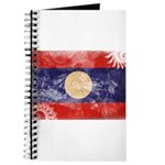 Laos Flag Journal