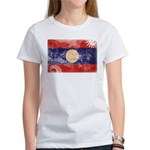 Laos Flag Women's T-Shirt