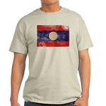 Laos Flag Light T-Shirt