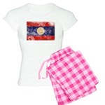 Laos Flag Women's Light Pajamas
