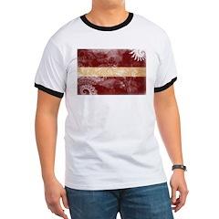 Latvia Flag T