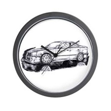 BMW E36 Art Wall Clock