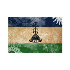 Lesotho Flag Rectangle Magnet (10 pack)