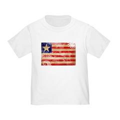 Liberia Flag T