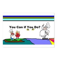 Comic You Can Do Postcards (Package of 8)