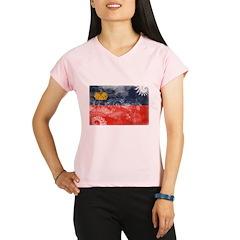 Liechtenstein Flag Performance Dry T-Shirt