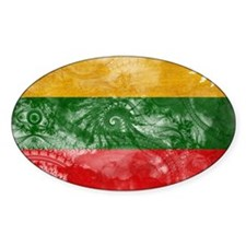 Lithuania Flag Bumper Stickers
