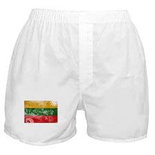 Lithuania Flag Boxer Shorts