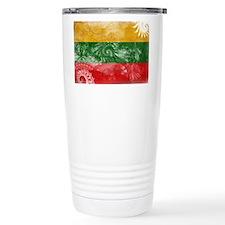 Lithuania Flag Travel Mug