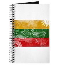 Lithuania Flag Journal
