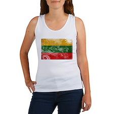 Lithuania Flag Women's Tank Top