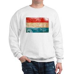 Luxembourg Flag Sweatshirt
