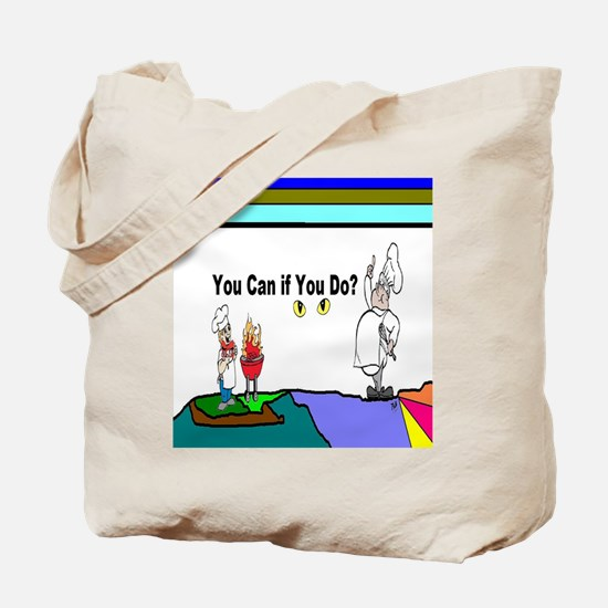 Comic You Can Do Tote Bag