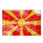 Macedonia Flag Postcards (Package of 8)