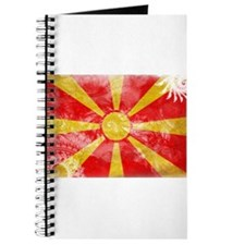 Macedonia Flag Journal