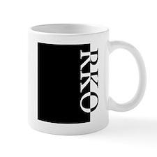 RKO Typography Mug
