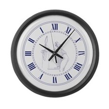 Magic Clock, Classic, Makes You Younger Large Wall