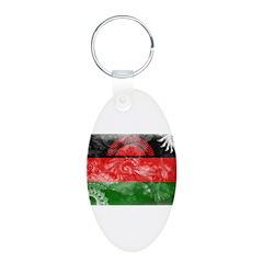 Malawi Flag Keychains