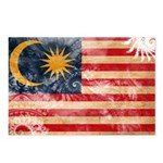 Malaysia Flag Postcards (Package of 8)