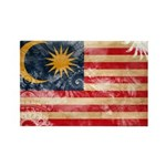 Malaysia Flag Rectangle Magnet (100 pack)