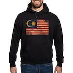 Malaysia Flag Hoodie (dark)