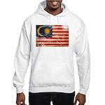 Malaysia Flag Hooded Sweatshirt
