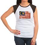 Malaysia Flag Women's Cap Sleeve T-Shirt