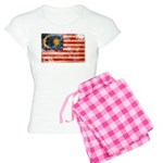 Malaysia Flag Women's Light Pajamas