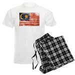 Malaysia Flag Men's Light Pajamas