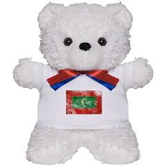 Maldives Flag Teddy Bear