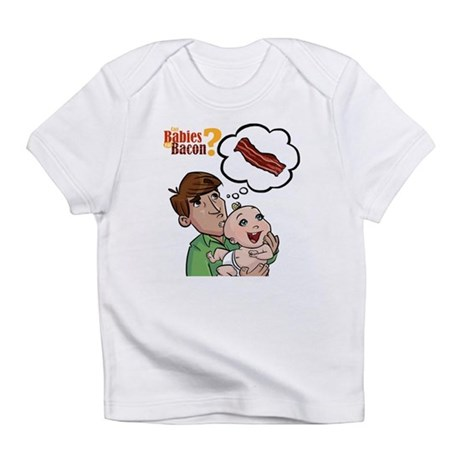 Dad, Baby and Bacon Infant T-Shirt