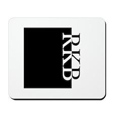 RKB Typography Mousepad