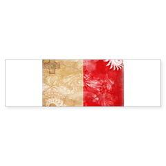 Malta Flag Bumper Sticker