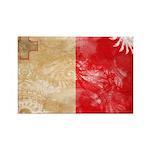 Malta Flag Rectangle Magnet (100 pack)