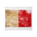 Malta Flag Throw Blanket