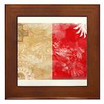 Malta Flag Framed Tile