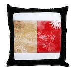Malta Flag Throw Pillow