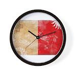 Malta Flag Wall Clock