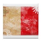 Malta Flag Tile Coaster