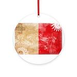 Malta Flag Ornament (Round)