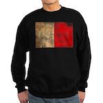 Malta Flag Sweatshirt (dark)