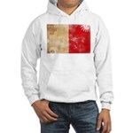Malta Flag Hooded Sweatshirt
